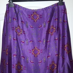 Tracy Feith Skirts - Vintage silk Tracy Feith skirt